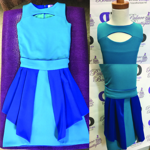 Custom pageant Interview Dress